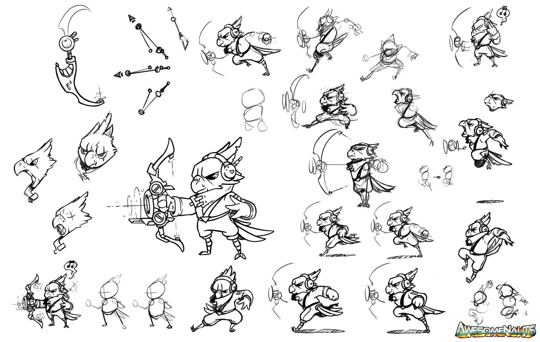 Joost's Dev Blog: Using key poses to prototype character animations